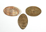 (3) 1990s Copper Tokens From Wisconsin. Unity Pride Masonic Grand Master Be