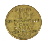 1932 Walgreen Drug Store/Milwaukee Prosperity Coin/Token. Worth 10-Cents on