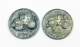 (2) 1990 & 1991 Ertl Dollar Coin/Tokens. Ertl Replica,