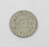 Vintage Hoeffler MFG Co. Milwaukee, WI. Coin/Token.  The Hoeffler manufactu