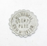Vintage Milwaukee County Park Commission Coin/Token. Redeemable at $0.05 Wh