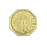 Vintage Stevens Point Elks No.641 Coin/Token. Good For $0.05 in Trade. Stev