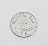 Vintage Bluegill Bar Birchwood,Wis. Coin/Token. Good For $0.05 in Trade. 10