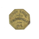 Vintage Osen Bros. Beldenville, Wis. Coin/Token. Good For $0.05 in Merchand