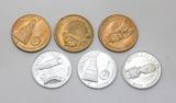 (6)Space Travel Coin/Tokens. Man in Space Gemini V, Gemini VIII, Apollo IX,