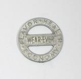 Vintage WEAR-EVER Aluminum Cookware Advertising Coin/Token. Flavor Health E