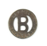 Vintage Beloit Traction Co.Token. Good For One Fare Beloit , Wis.  Atwood/C