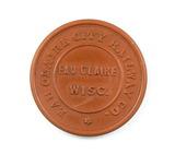 Vintage Eau Claire City Railway Co. Token. Good For One Fare Eau Claire,Wis