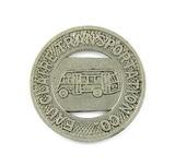 Vintage Eau Claire Transportation Co. Token. Good For One City Fare Eau Cla