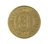 Vintage  Fond Du Lac Area Transit Token. Good For One Fare Fond Du Lac, Wis