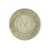 Vintage Miss. Valley Public Service Co. Token. Good For One Fare LaCrosse,W