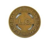 Vintage LaCrosse Transit Co. L.C. Token. Good For One School Fare LaCrosse,