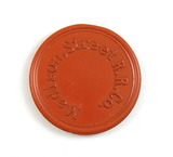 Vintage Madison Street R.R. Co. Token. Good for One Ride Madison, Wis. Atwo