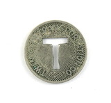 Vintage Twin City Transportation Co. Token. Good For One Fare Marinette, Wi