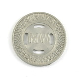 Vintage Inter Transit Co. Marshfield, Wis. (MW) Token. Good For 1 Student