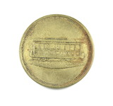 Vintage Merrill RY & Lighting Co. Token. One Fare Atwood/Coffee WI 500-B  1