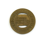 Vintage American Coach Lines Inc. Token. Good For One City Fare Milwaukee,
