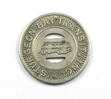 Vintage Sturgeon Bay Transit Inc. Token. Good For One Adult Fare Sturgeon B