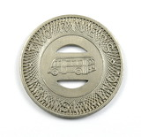 Vintage Two Rivers Transit Inc. Token. Good For One Fare Two Rivers, Wis. A