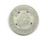 Vintage Wisconsin Public Service Corp (WPS Corp) Token. Good For One Fare W
