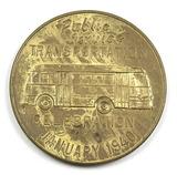 1940 Public Service Transportaion Celebration Coin/Token. Wausaus First Str