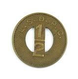 Vintage Ashland L.S.D.P.C. Token. Children Under Twelve Years 1/2 Cent. Ash