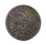 Vintage Racine Wisconsin A.B. Van Cott Coin/Token. Watches.Clocks.Jewelry.F