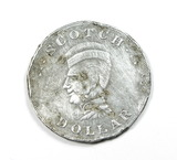 Vintage Leath's Scotch Dollar Coin/Token. April 1st to April 23rd. Leath's
