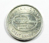 Naval Training Center Great Lakes ILL Recreational Services Coin/Token. Dep