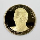 Large Presidential Comemmorative Dollar John F Kennedy 35th President 1961-