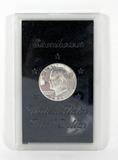 1971-S Silver Clad Proof Eisenhower Dollar In Hard Case.