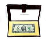 1976 Franklin Mint First day of Issue Two Dollar Bicetennial Commemoratiev