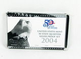 2004 United States 50 State Quarters Silver Proof Set