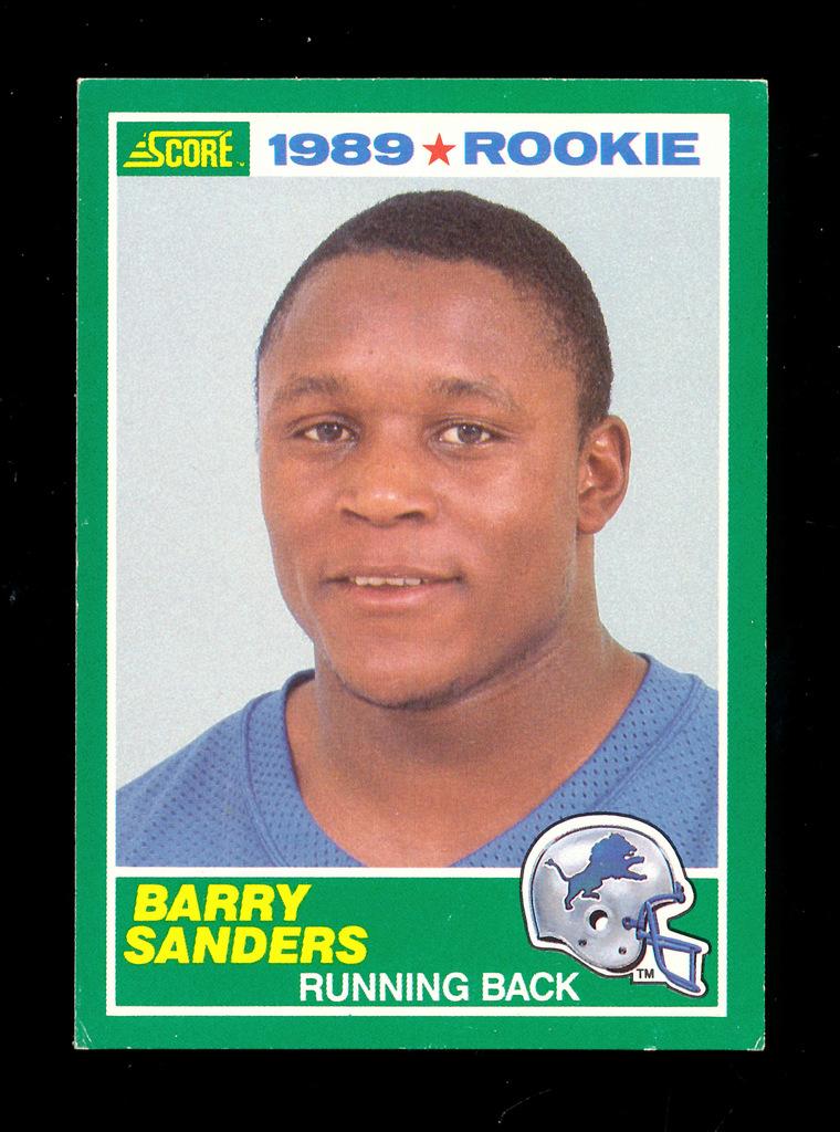 Lot 1989 Score Rookie Football Card 257 Rookie Hall Of