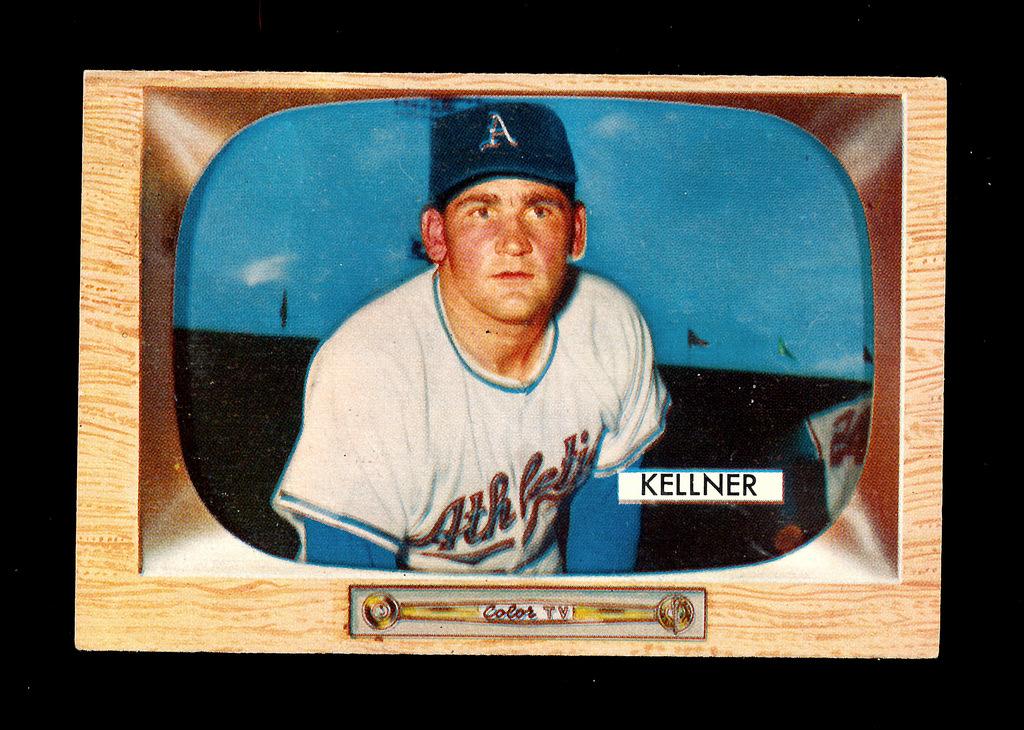 Lot 1955 Bowman Baseball Card 53 Alex Kellner Kansas City