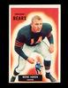 1955 Bowman Football Card #125 Wayne Hansen Chicago Bears. NM Condition.