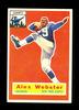 1956 Topps ROOKIE Football Card #5 Rookie Alexander Webster New York Giants