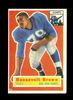 1956 Topps ROOKIE Football Card #41 Rookie Hall of Famer Roosevelt Brown Ne