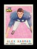 1959 Topps ROOKIE Football Card #103 Rookie Alex Karras Detroit Lions. EX/M