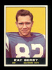 1961 Topps Football Card #4 Hall of Famer Raymond Berry Baltimore Colts. EX