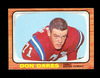 1966 Topps Football Card #11 Don Oakes Boston Patriots. EX/MT Condition.