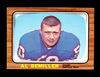 1966 Topps Football Card #19 Al Bemiller Buffalo Bills. EX/MT Condition.