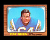 1966 Topps Football Card #130 Pat Shea San Diego Chargers. EX/MT Condition.