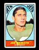 1967 Topps Football Card #98 Hall of Famer Joe Namath New York Jets. VG/EX