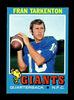 1971 Topps Football Card #120 Hall of Famer Fran Tarkenton New York Giants.