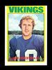 1972 Topps Football Card #225 Hall of Famer Fran Tarkenton Minnesota Viking