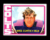 1972 Topps Football Card #326 Mike Curtis Baltimore Colts. EX/MT Condition