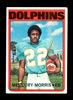 1972 Topps Football Card #331 Mercury Morris Miami Dolphins. NM Condition