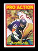1972 Topps Football Card #351 Ken Willard In Action San Francisco 49ers. EX