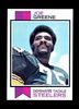 1973 Topps Football Card #280 Hall of Famer Joe Greene Pittsburgh Steelers.